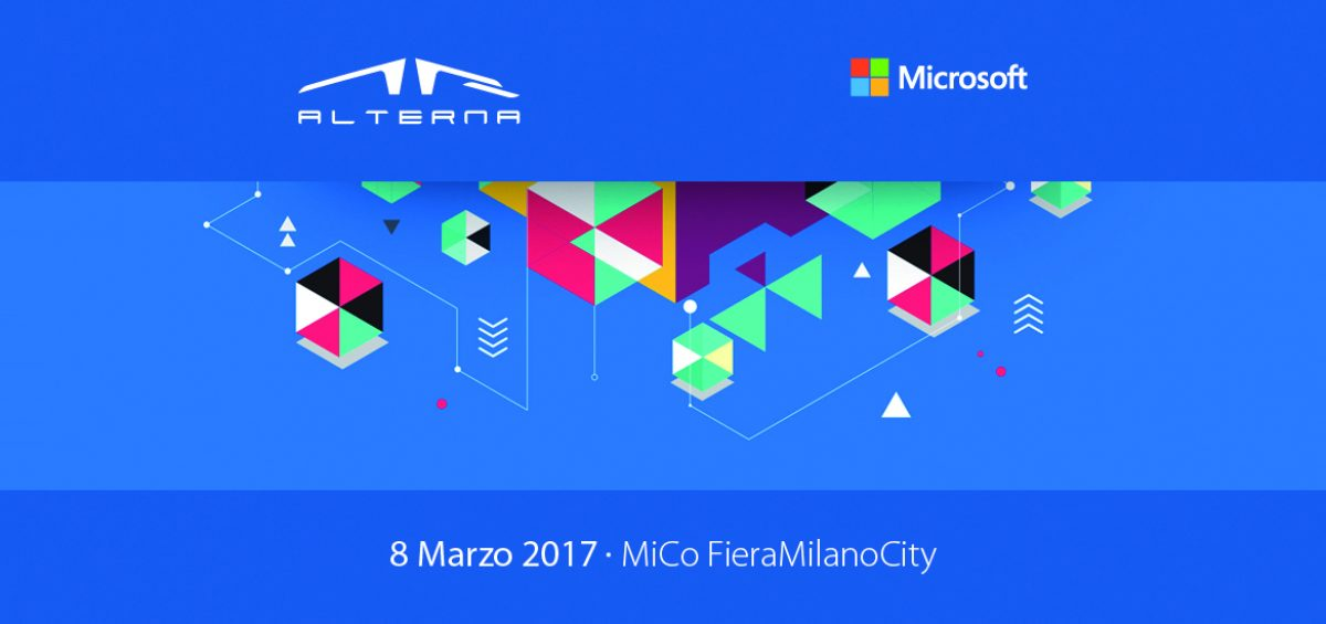 Microsoft Forum 2017 Alterna Industry 4.0